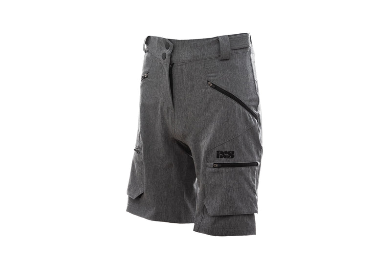 IXS Tema 6.1 Trail Womens Shorts Graphite 34 drive side