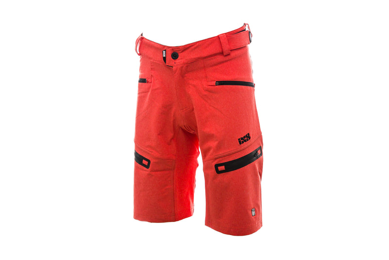 IXS Sever 6.1 BC Shorts Fluor Red drive side