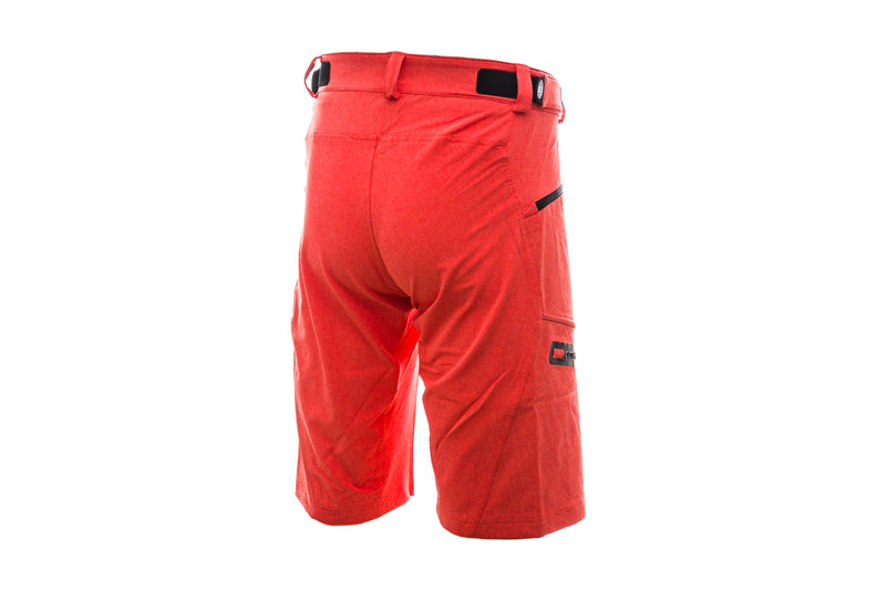 IXS Sever 6.1 BC Shorts Fluor Red non-drive side