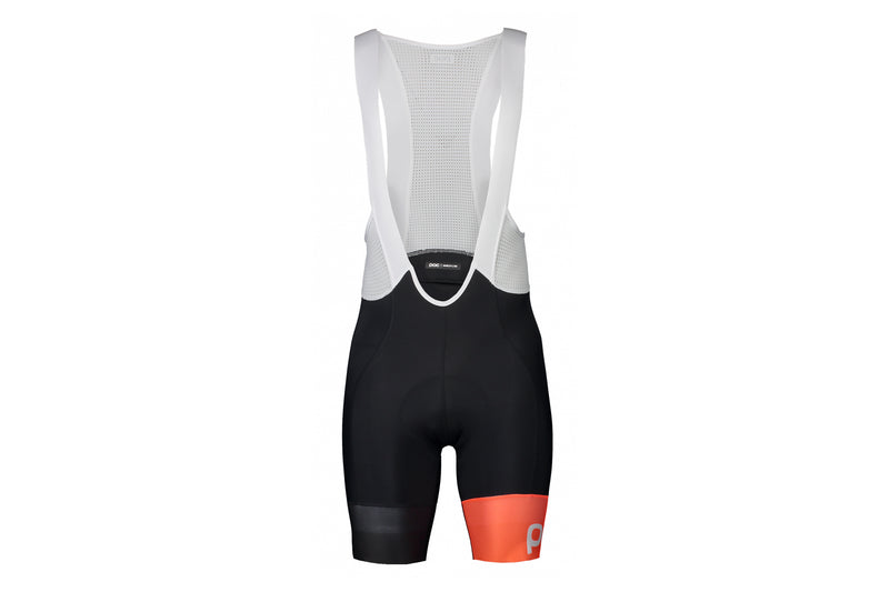POC Essential Road VPDs Bib Shorts Uranium Black/Hydrogen White Medium drive side