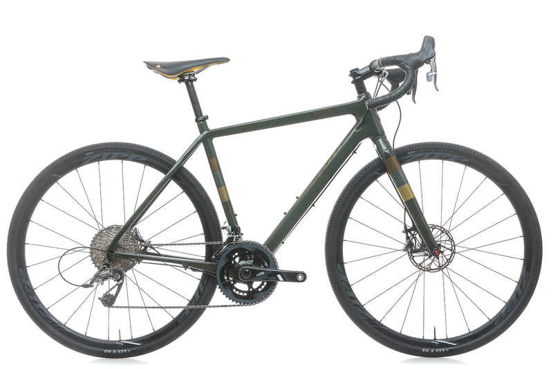 Salsa Warbird Carbon Force Brooks Limited Edition 55cm Bike - 2017 drive side