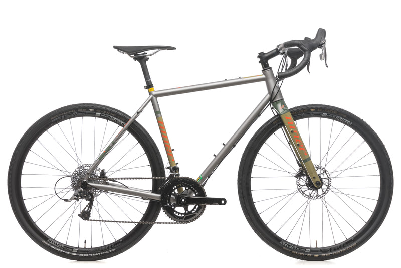 Niner RLT 9 Steel 3-Star 53cm Bike - 2018 drive side