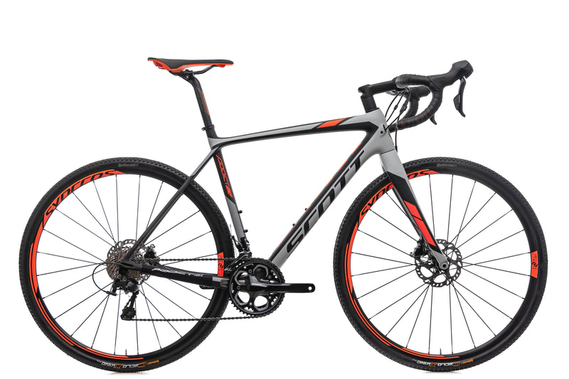 Scott Addict CX 20 Disc Cyclocross Bike - 2018, Medium drive side