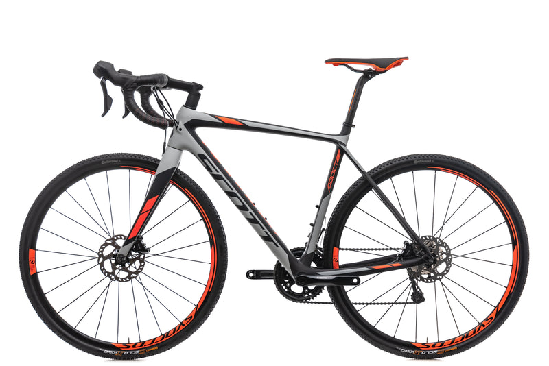Scott Addict CX 20 Disc Cyclocross Bike - 2018, Medium non-drive side