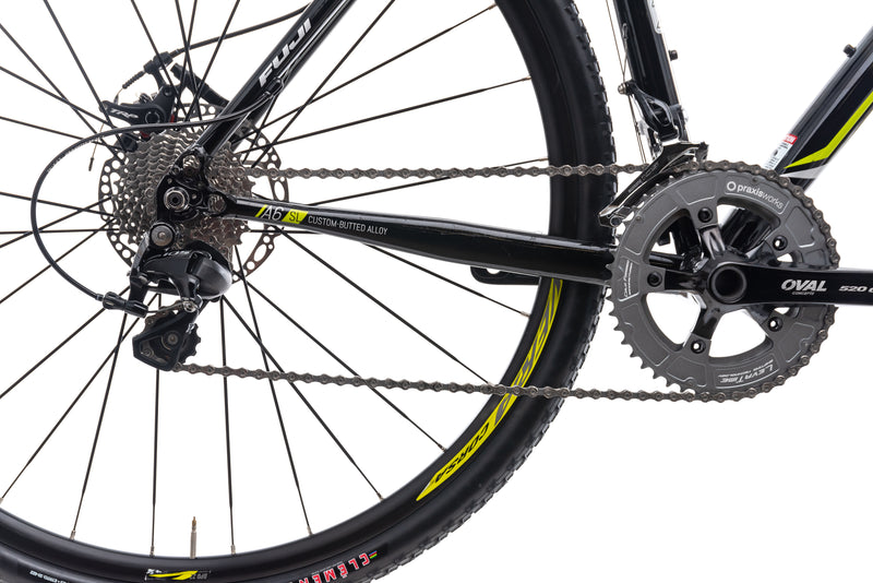 Fuji Cross 2.0 LE Small Bike - 2016 drivetrain