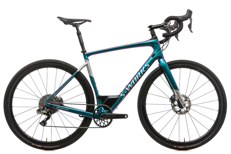 Specialized S-Works Diverge Gravel Bike - 2018, 58cm drive side