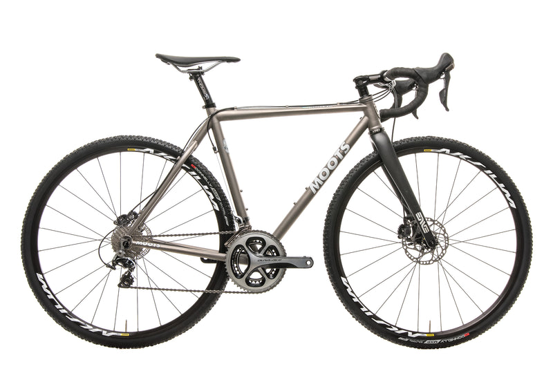 Moots Psychlo X RSL Custom Cyclocross Bike - 2014, 54cm drive side