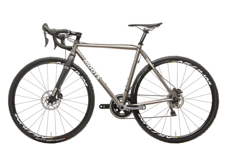 Moots Psychlo X RSL Custom Cyclocross Bike - 2014, 54cm non-drive side