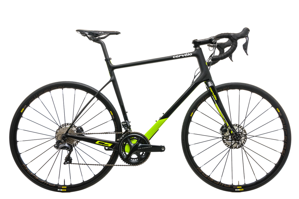 Cervelo C5 Ultegra Di2 Road Bike - 2018, 58cm drive side