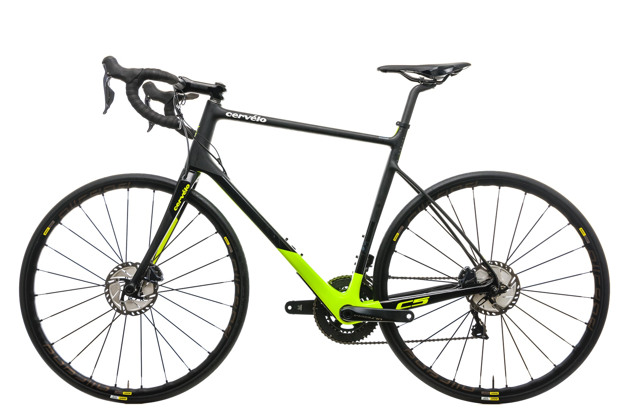 Cervelo C5 Ultegra Di2 Road Bike - 2018, 58cm non-drive side
