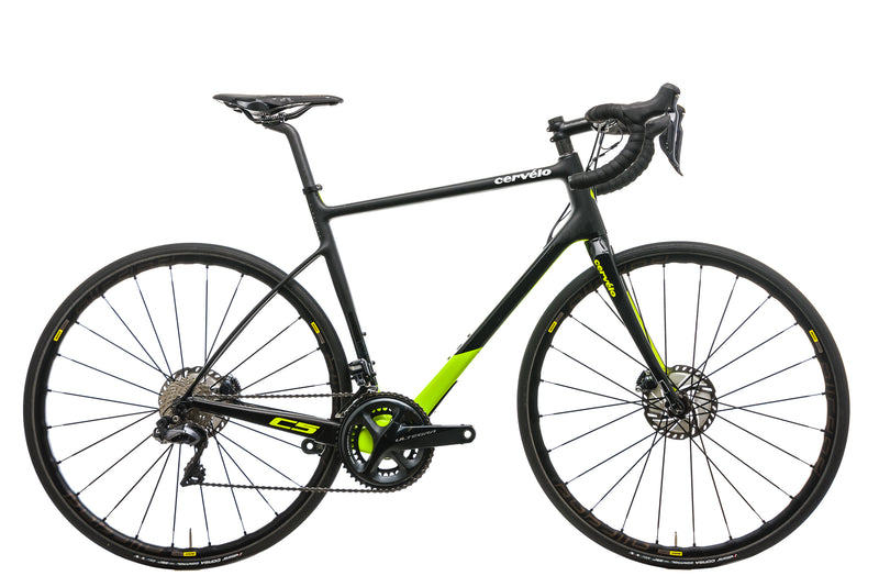 Cervelo C5 Ultegra Di2 Road Bike - 2018, 56cm drive side