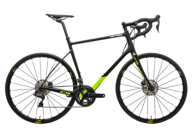 Cervelo C5 Disc Road Bike - 2018, 58cm drive side