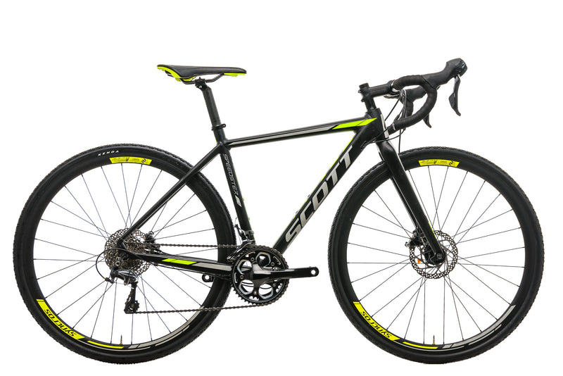 Scott Speedster CX 10 Disc Cyclocross Bike - 2018, X-Small drive side