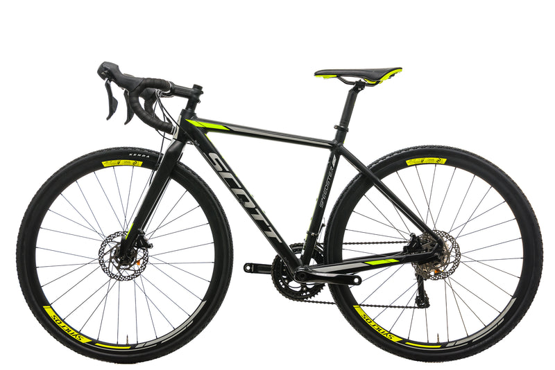 Scott Speedster CX 10 Disc Cyclocross Bike - 2018, X-Small non-drive side
