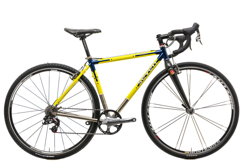Seven Cycles Muse Custom Cyclocross Bike - Medium drive side
