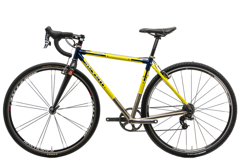 Seven Cycles Muse Custom Cyclocross Bike - Medium non-drive side