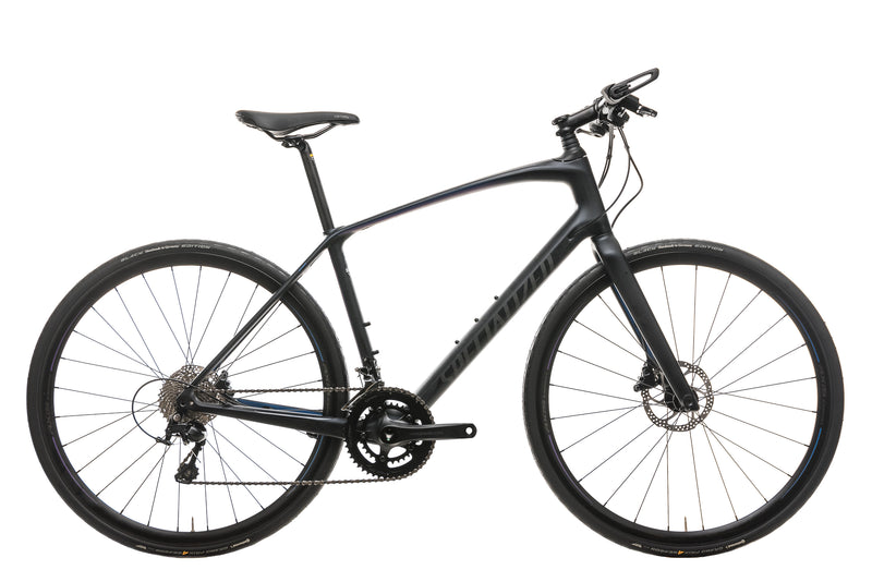 Specialized  Sirrus Expert Carbon Hybrid Bike - 2019, Medium drive side