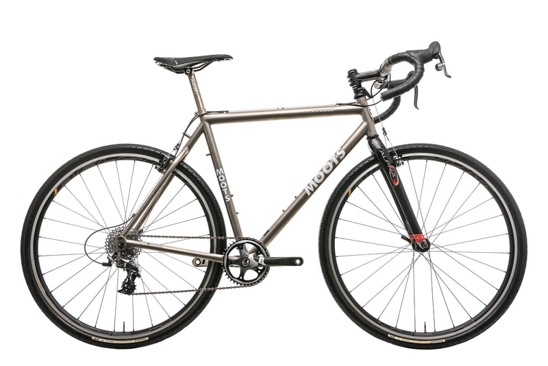 Moots Psychlo X Cyclocross Bike - 2011, 55cm drive side