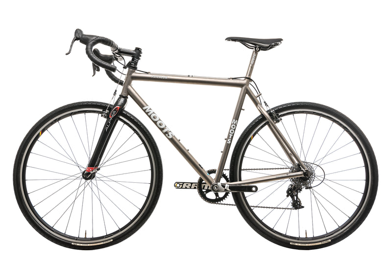 Moots Psychlo X Cyclocross Bike - 2011, 55cm non-drive side