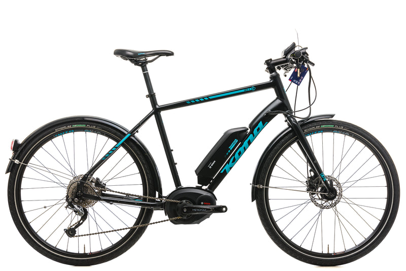 Kona Dew-E Electric Bike - 2018, 55cm drive side