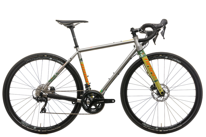 Niner RLT Steel 3-Star Gravel Bike - 2019, 50cm drive side