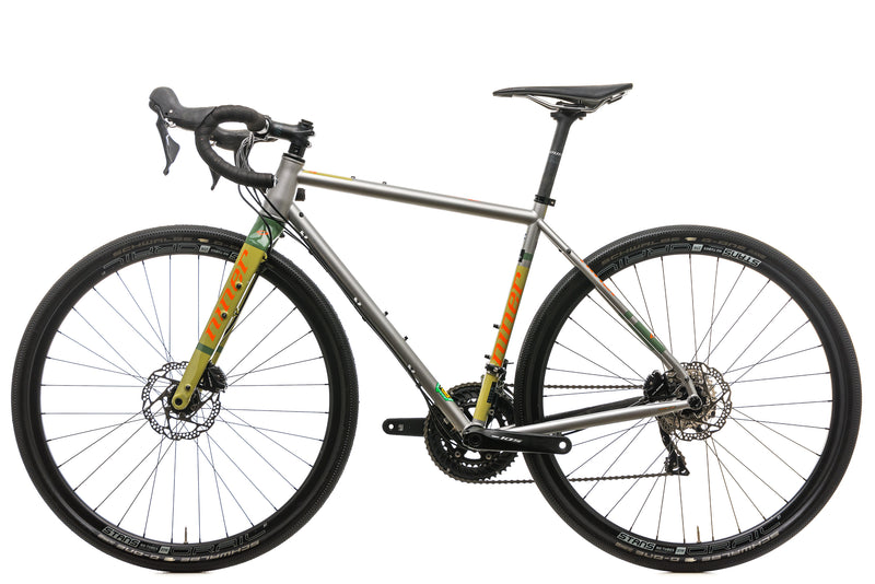 Niner RLT Steel 3-Star Gravel Bike - 2019, 50cm non-drive side