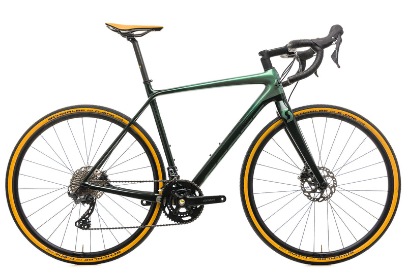 Scott Addict 30 Gravel Bike - 2020, Medium drive side