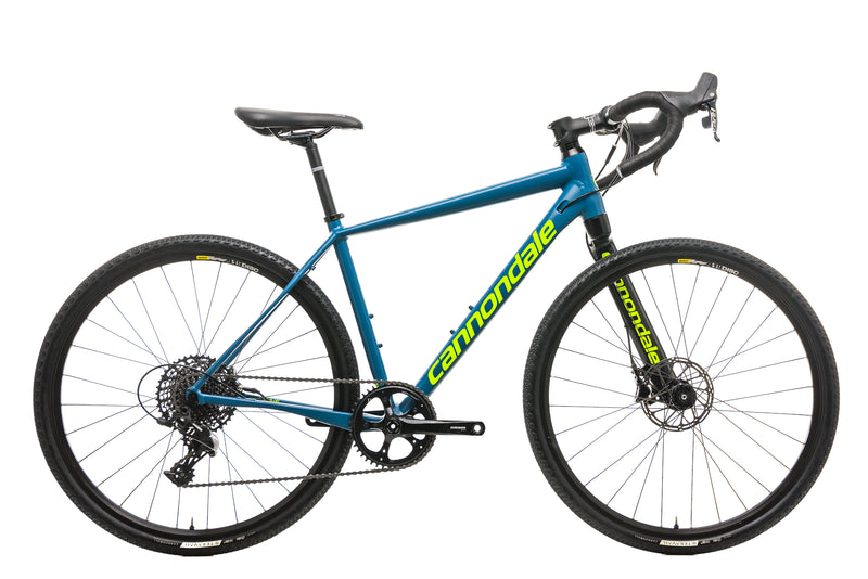 Cannondale Slate Apex 1 Gravel Bike - 2017, Medium drive side
