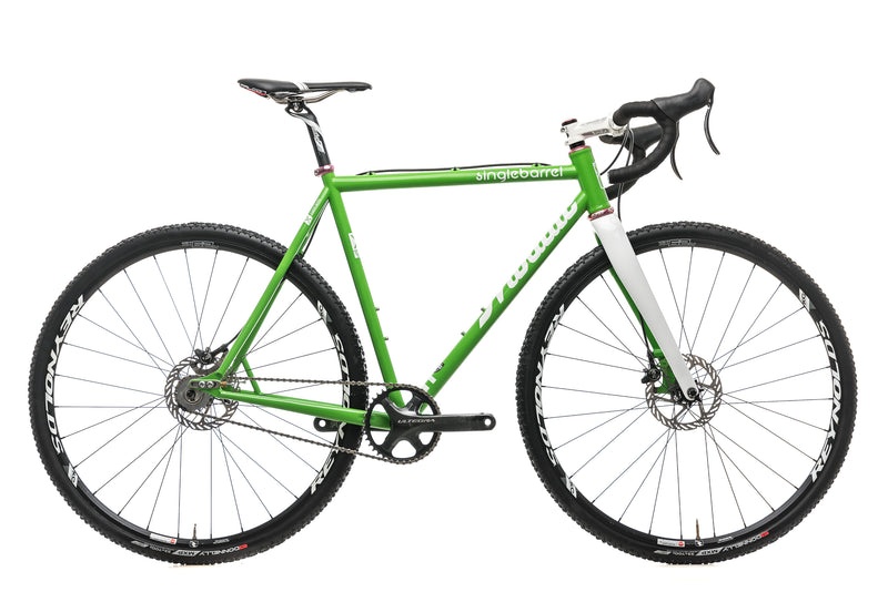 Mosaic XSS-1 SingleBarrel Custom Cyclocross Bike - Medium drive side