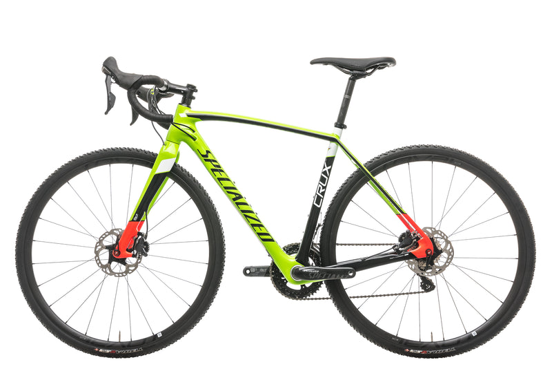 Specialized CruX Pro Race Cyclocross Bike - 2016, 52cm non-drive side