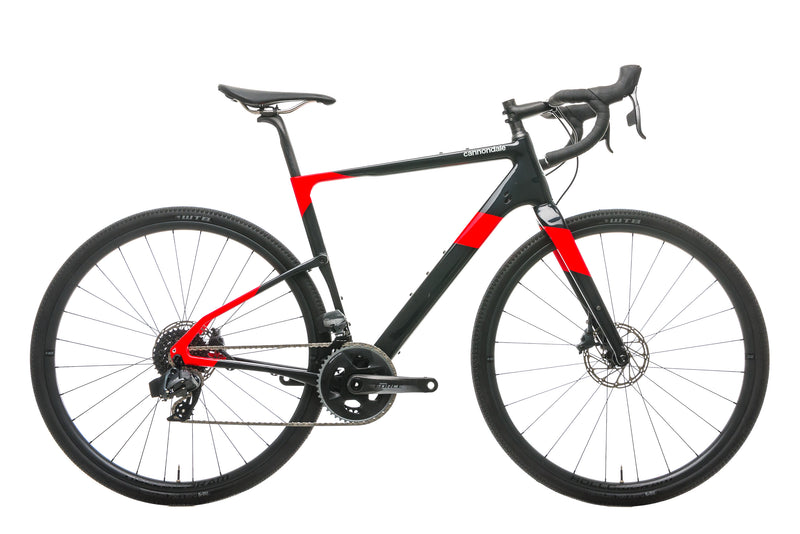 Cannondale Topstone Carbon Force eTap AXS Gravel Bike - 2020, Medium drive side