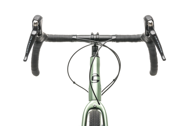 Cannondale Topstone Carbon Ultegra RX 2 Gravel Bike - 2020, Large cockpit