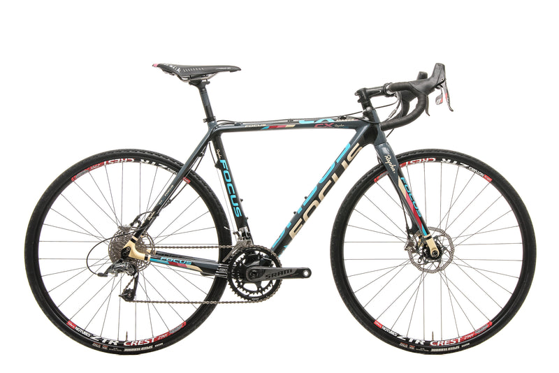 Focus Mares CX 1.0 Disc Cyclocross Bike - 2014, Medium drive side