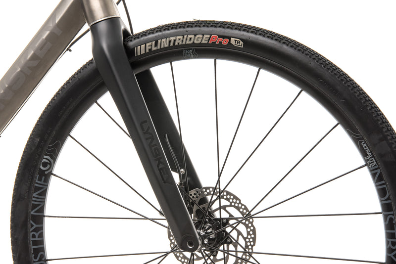 Lynskey PRO GR Gravel Bike - 2019, Med/Large front wheel