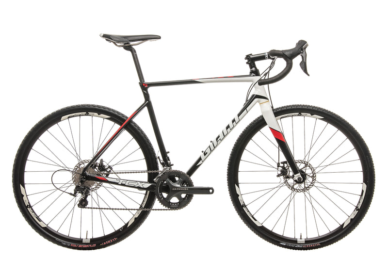 Giant TCX SLR 2 Cyclocross Bike - 2016, Med/Large drive side