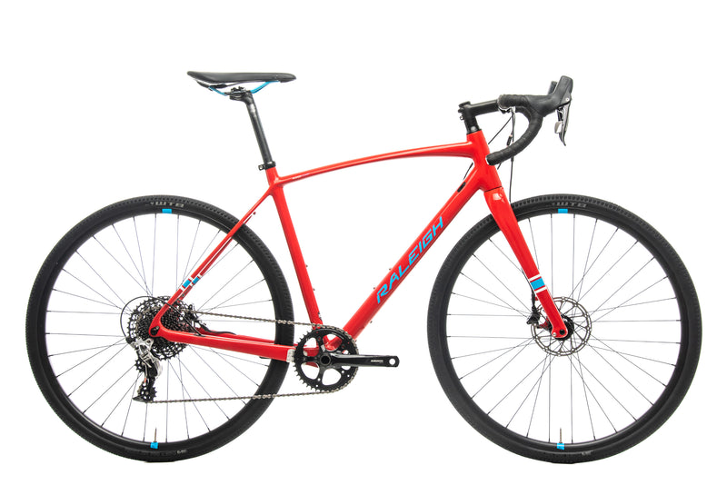 Raleigh Roker Comp Cyclocross Bike - 2017, 56cm drive side