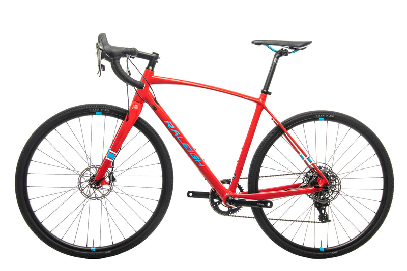 Raleigh Roker Comp Cyclocross Bike - 2017, 56cm non-drive side