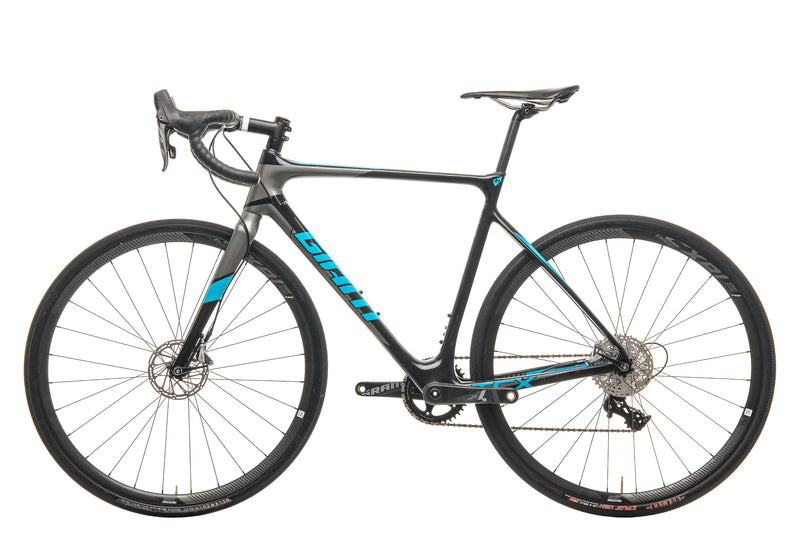 Giant TCX Advanced Pro 1 Cyclocross Bike - 2018, Medium non-drive side