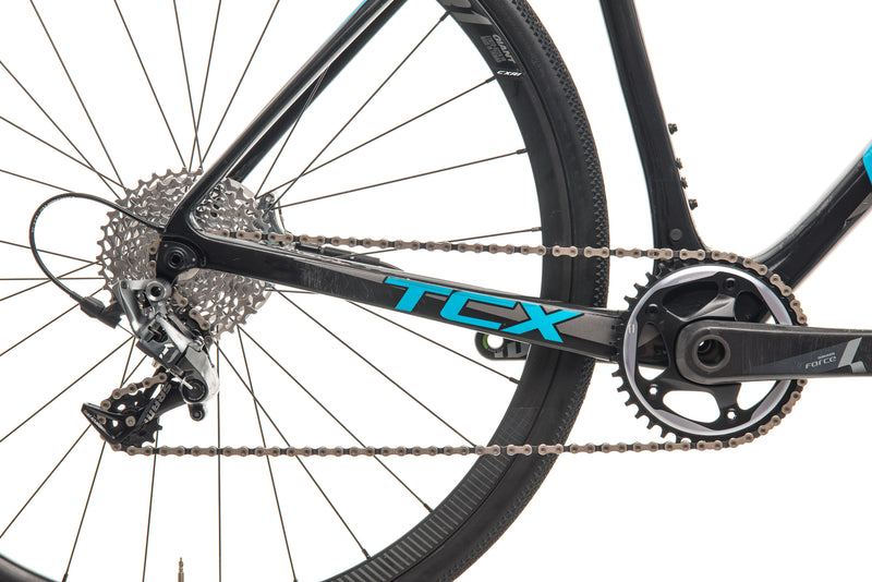 Giant TCX Advanced Pro 1 Cyclocross Bike - 2018, Medium drivetrain