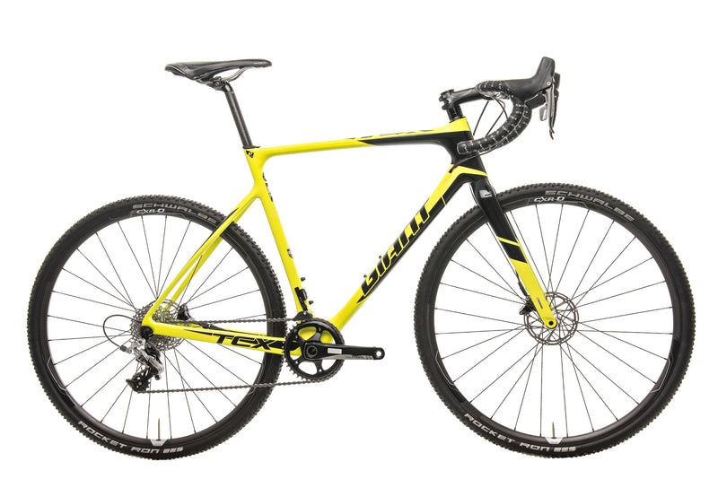 Giant TCX Advanced Pro 1 Cyclocross Bike - 2017, Med/Large drive side