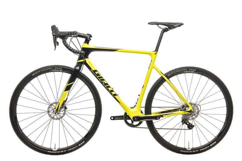 Giant TCX Advanced Pro 1 Cyclocross Bike - 2017, Med/Large non-drive side