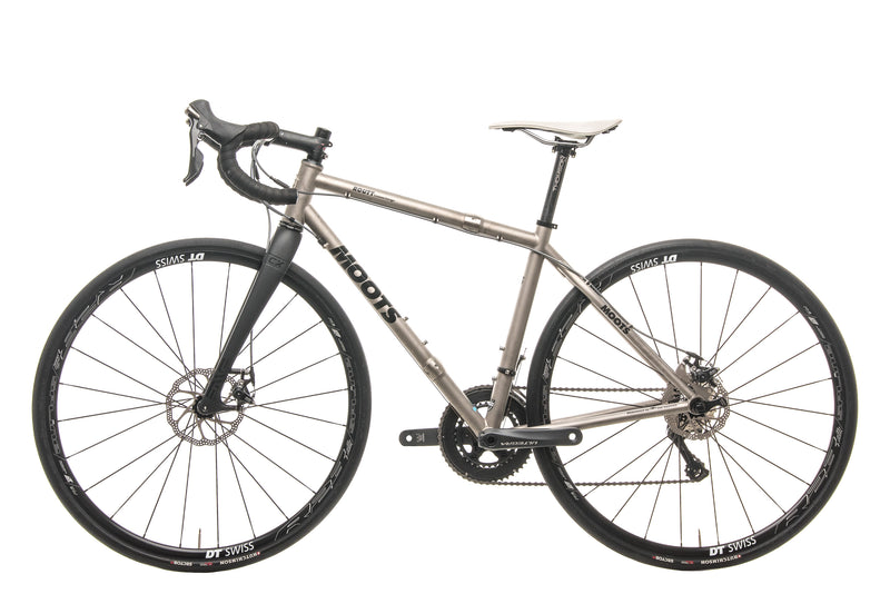 Moots Routt S&S Couplings Gravel Bike - 2017, Small non-drive side