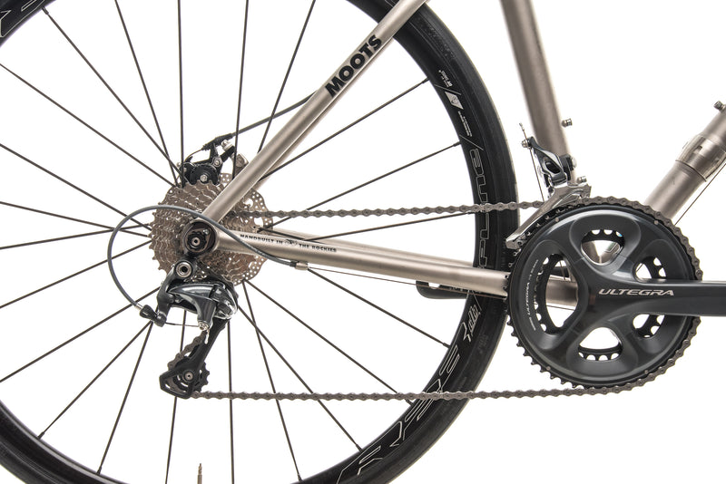 Moots Routt S&S Couplings Gravel Bike - 2017, Small drivetrain