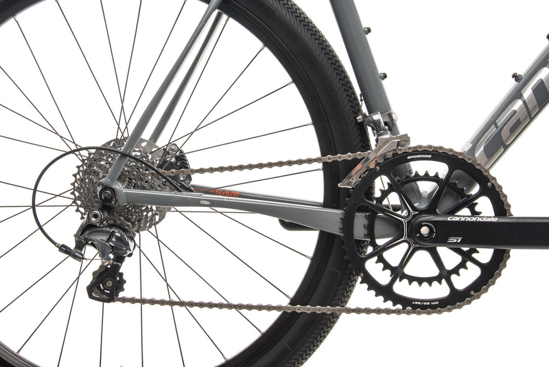 Cannondale Slate Gravel Bike - 2017, X-Large drivetrain