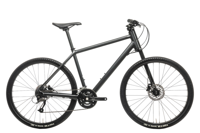 Cannondale Bad Boy 2 Hybrid Commuter Bike - 2020, Medium drive side