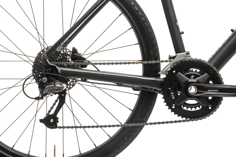 Cannondale Bad Boy 2 Hybrid Commuter Bike - 2020, Medium drivetrain