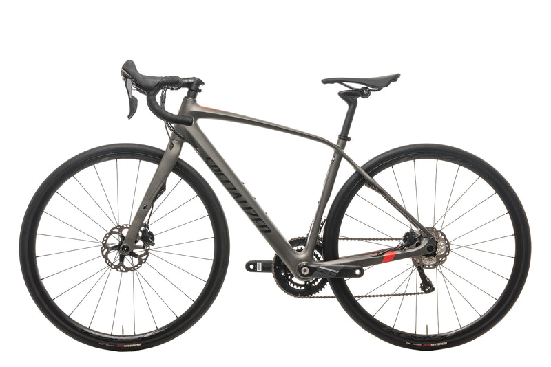 Specialized Diverge Expert Carbon Road Bike - 2015, 54cm non-drive side