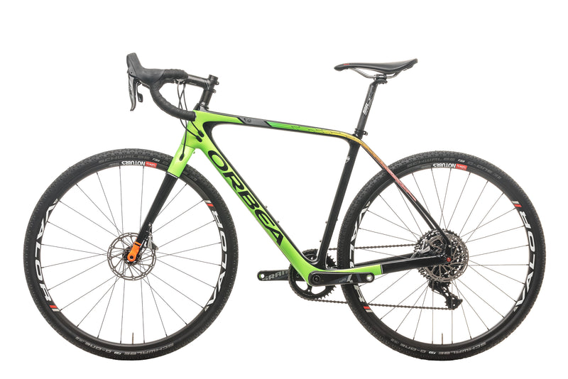 Orbea Terra M21-D Cyclocross Bike - 2018, Small non-drive side