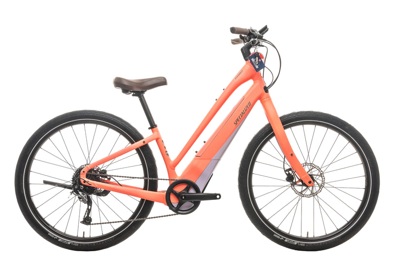 Specialized Como 2.0 Low Entry Hybrid E Bike - 2018, Small drive side