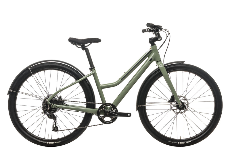 Cannondale Treadwell EQ Remixte City Road Bike - 2019, Small drive side